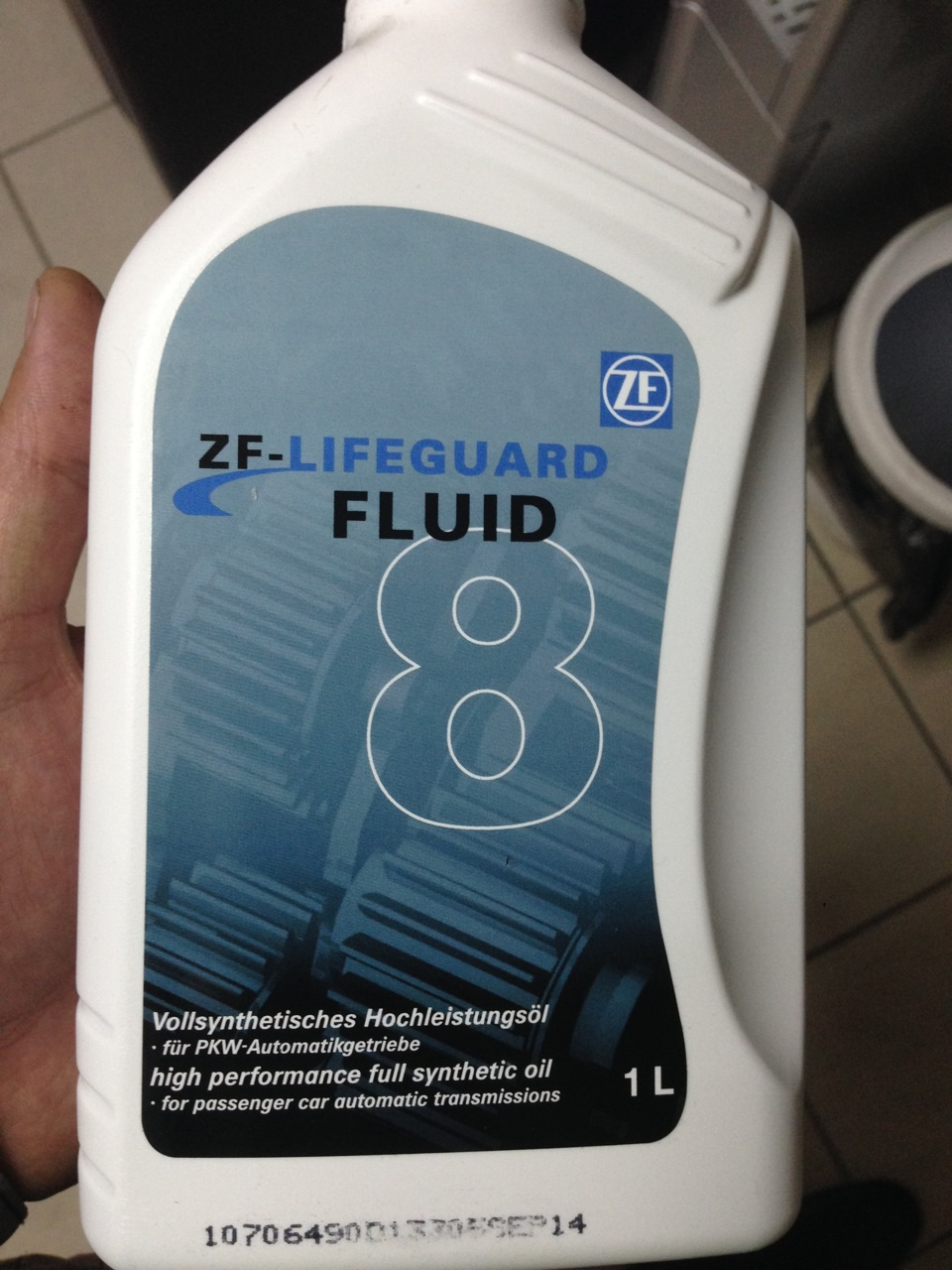 Авалон Авто - Масло трансм  ZF LIFEGUARD FLUID 8 1L